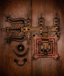 gate lock, india 2