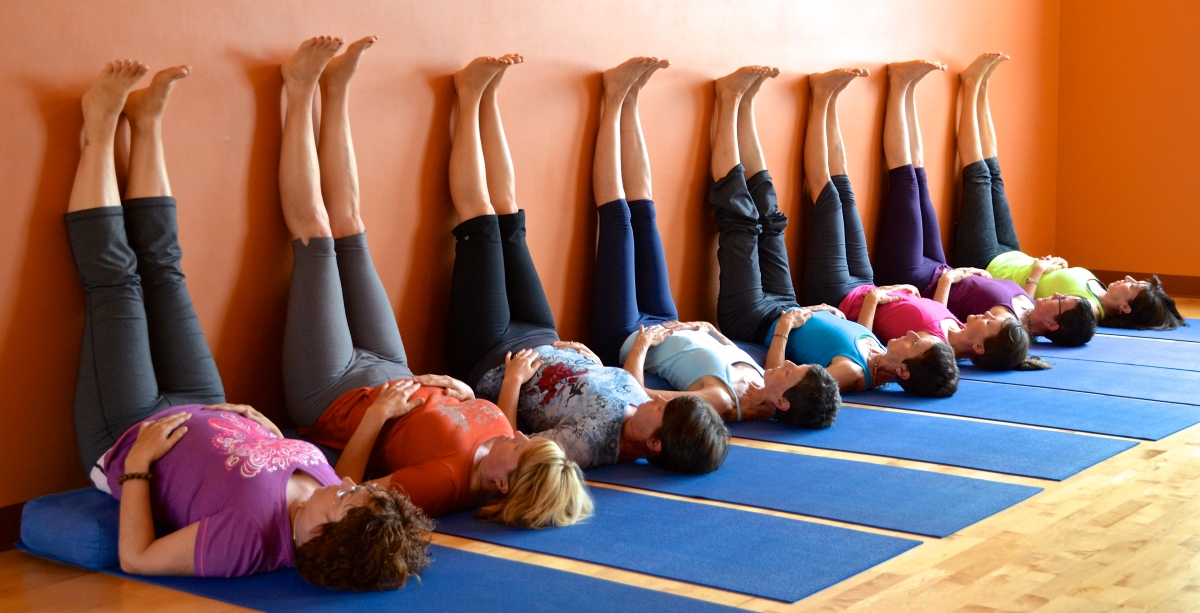 Image result for yoga legs on the wall picture