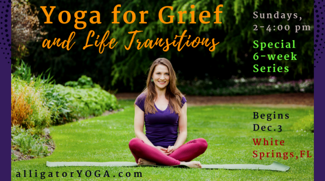 Yoga for Grief & Life Transitions banner